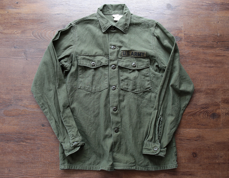 US.ARMY FIELD SHIRTS USED CLOTHING COLLECTION vol. 9