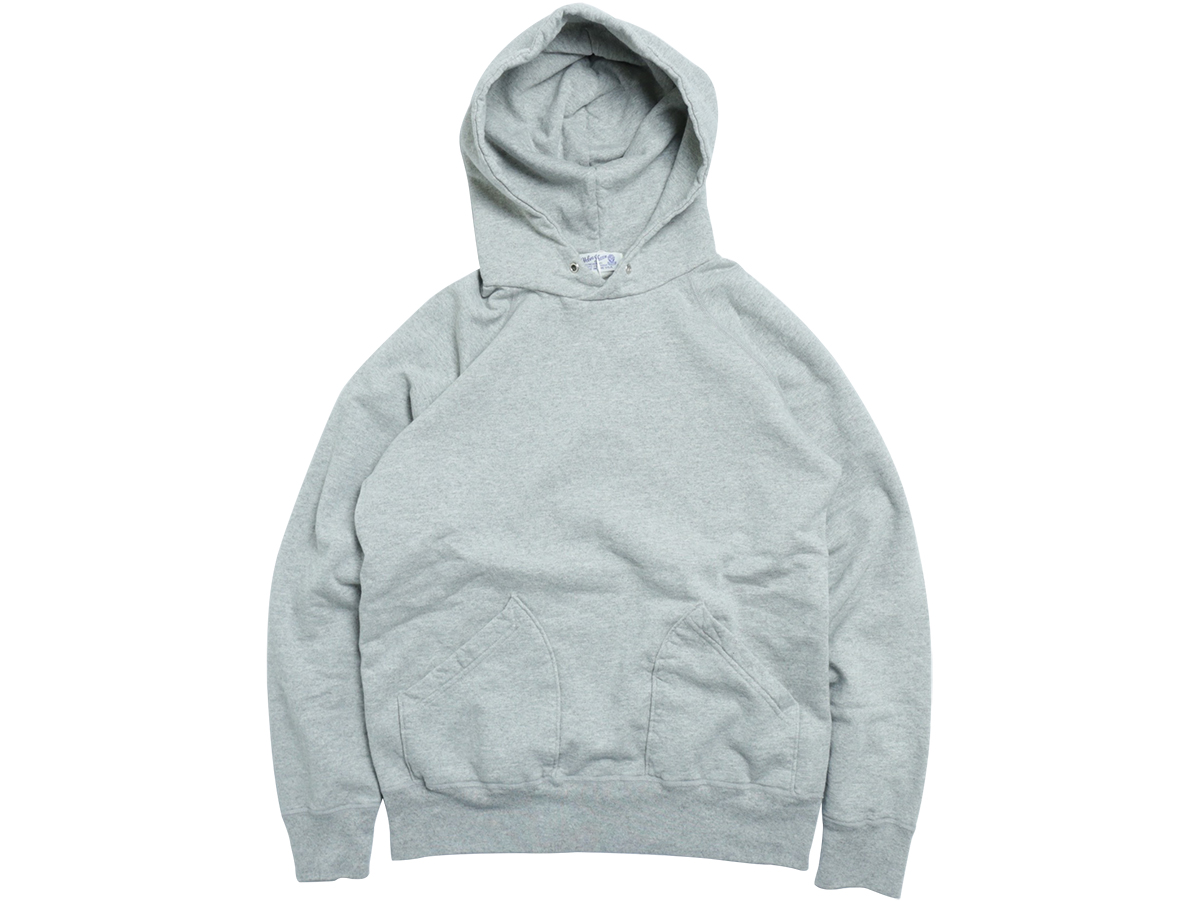 VELVA SHEEN 10oz. PULLOVER HOODIE color : Heather Grey
