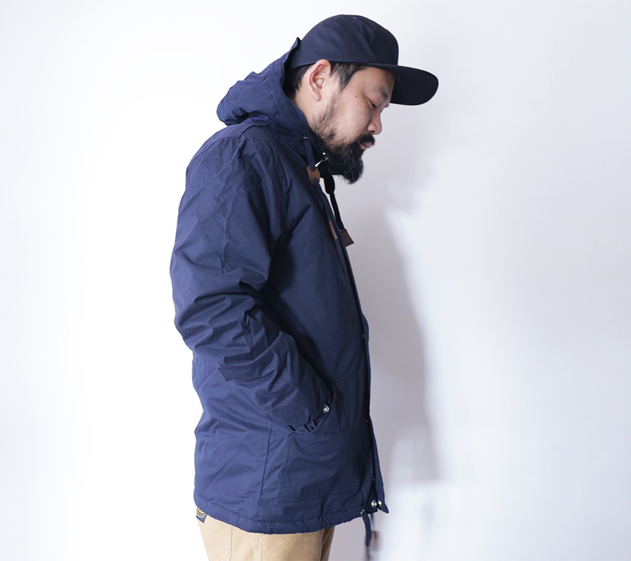 FAT MOOSE  AUTUMN/WINTER 16 COLLECTION  SAILOR JACKET  color : Navy