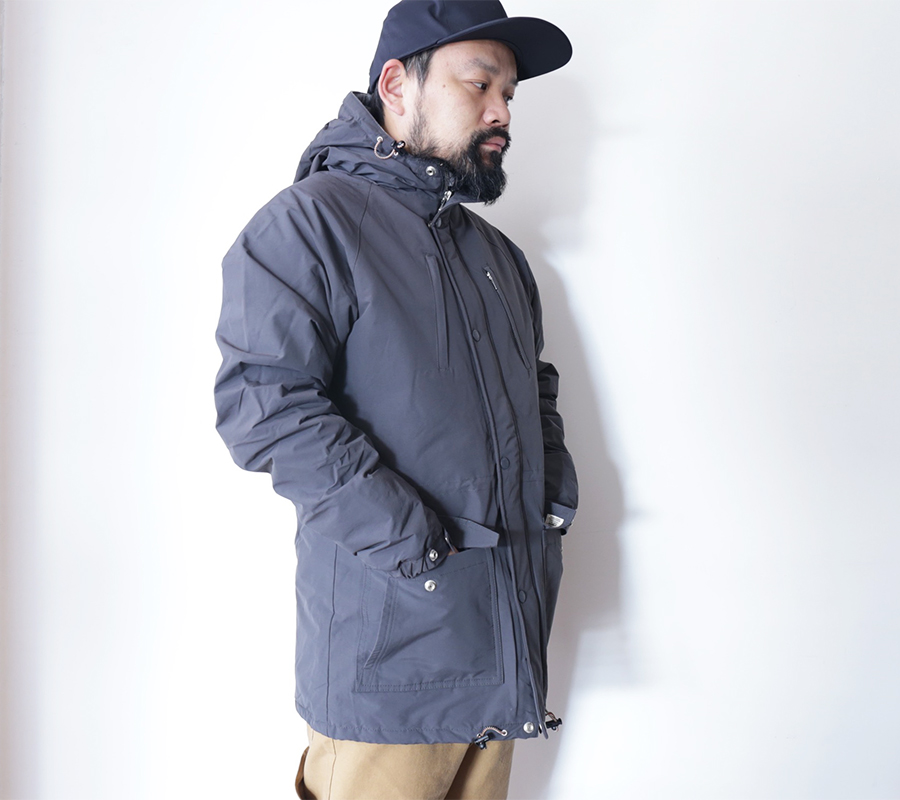 FAT MOOSE AUTUMN/WINTER 16 COLLECTION INNERCITY JACKET color : Charcoal(Anthracite)