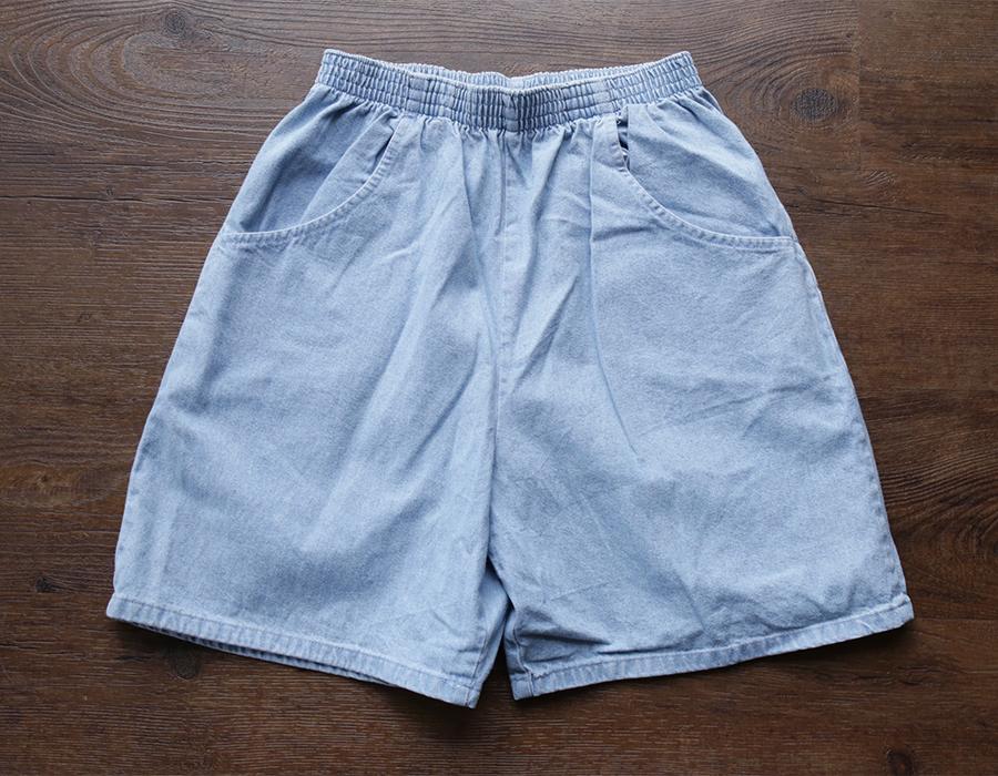 wax clothing USED / DENIM SHORTS