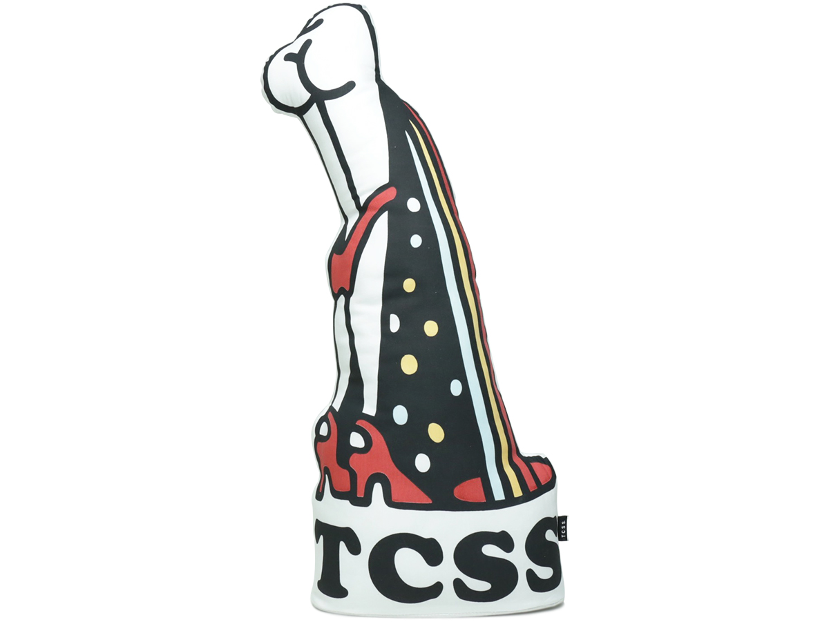 TCSS/the critical slide society FALL 2016 TUBE RATS CUSHION