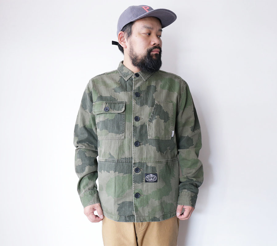 POLeR OUTDOOR STUFF  FALL 16 COLLECTION  BUCK WOVEN  color : Green Furry Camo