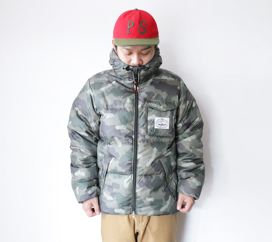 POLeR OUTDOOR STUFF FALL 16 COLLECTION BURNER JACKET color : Green Furry Camo