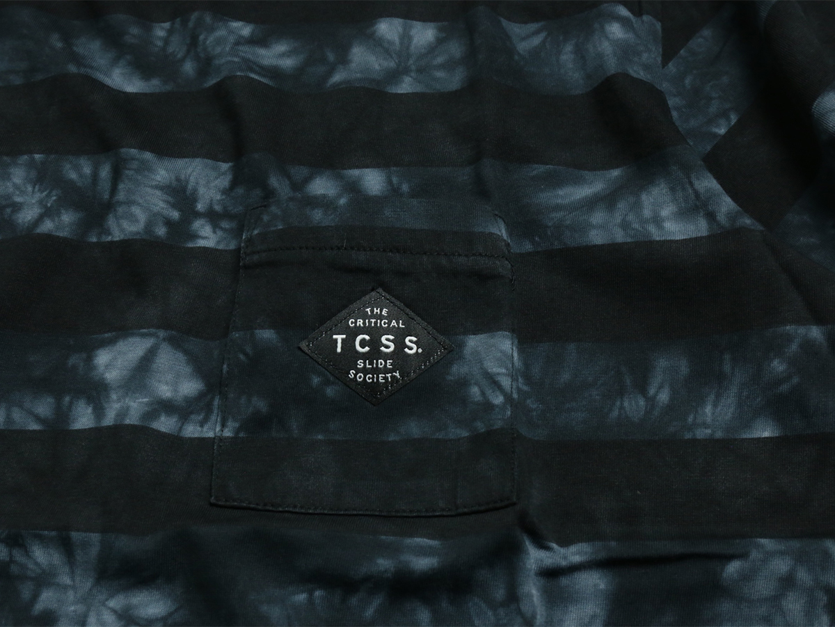 JONES TEE - Phantom(Black/Navy)