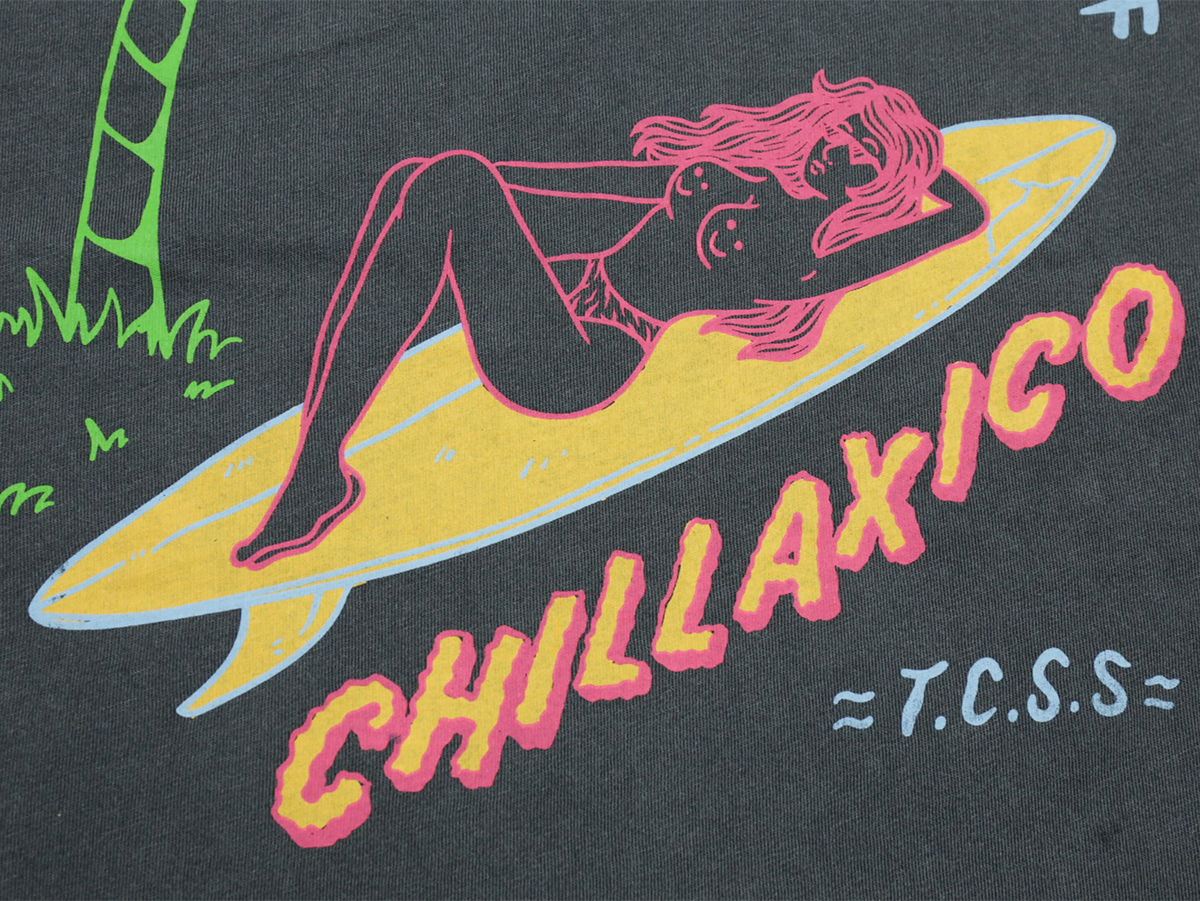 TCSS/the critical slide society FALL 2016 CHILLAXICO TEE color : Black