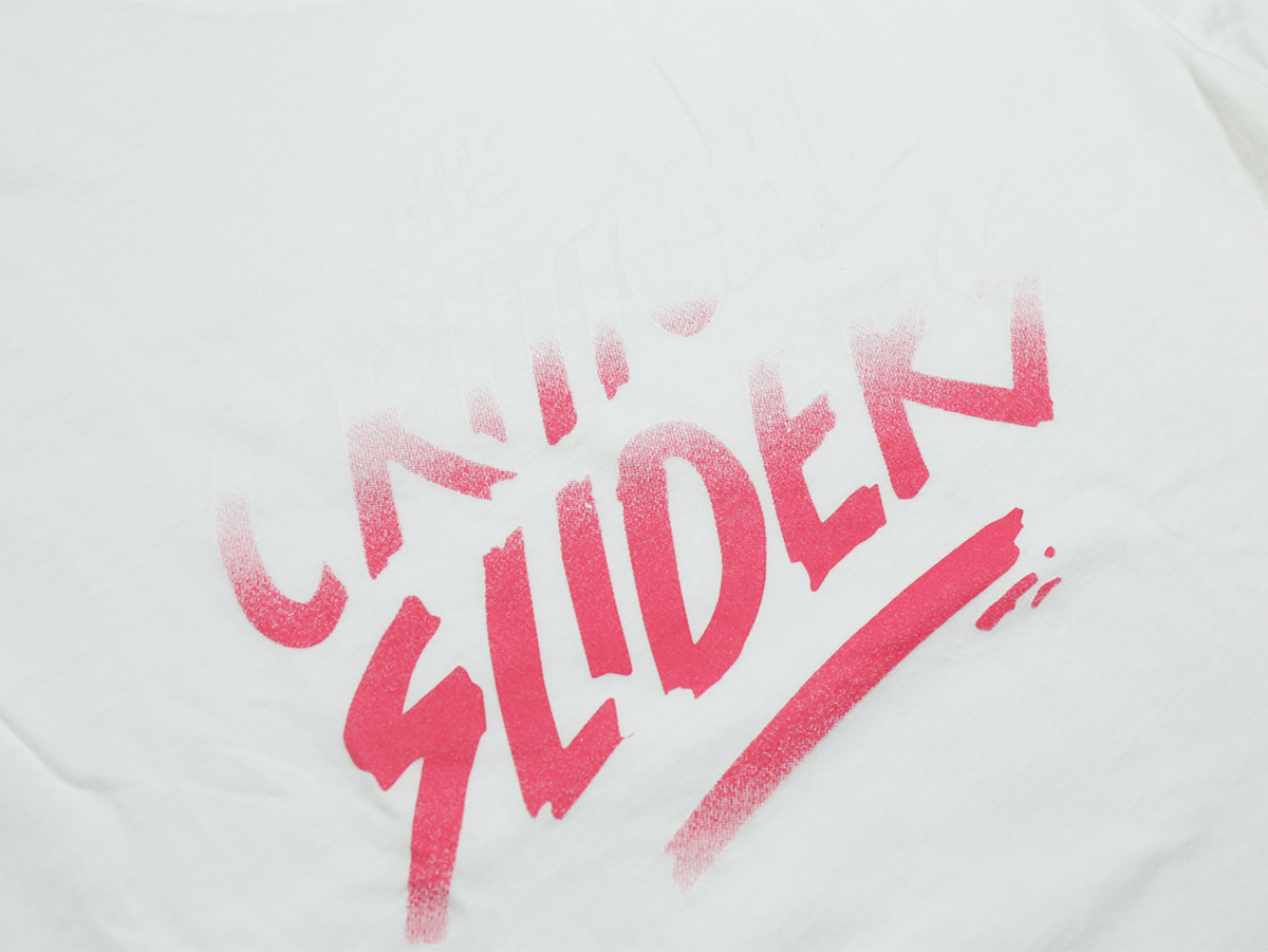 TCSS/the critical slide society FALL 2016 B-SIDES TEE color : White