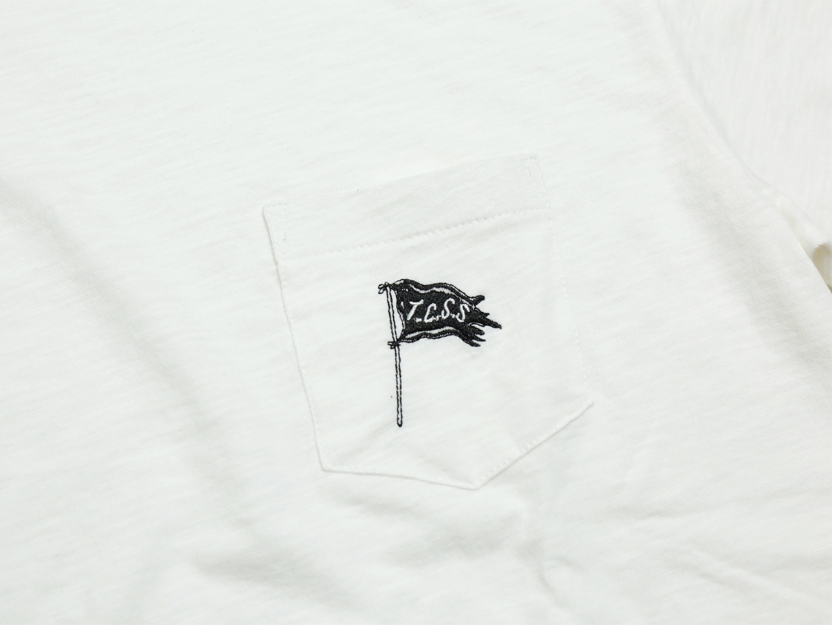 TCSS/the critical slide society FALL 2016 PATRIOT POCKET TEE color : White