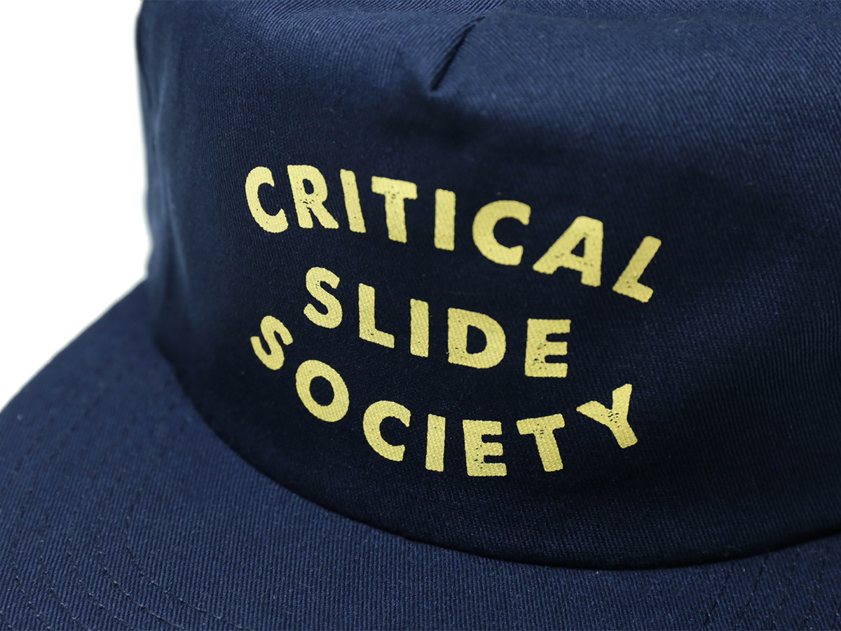 TCSS/the critical slide society FALL 2016 LAYBACK CAP color : Navy