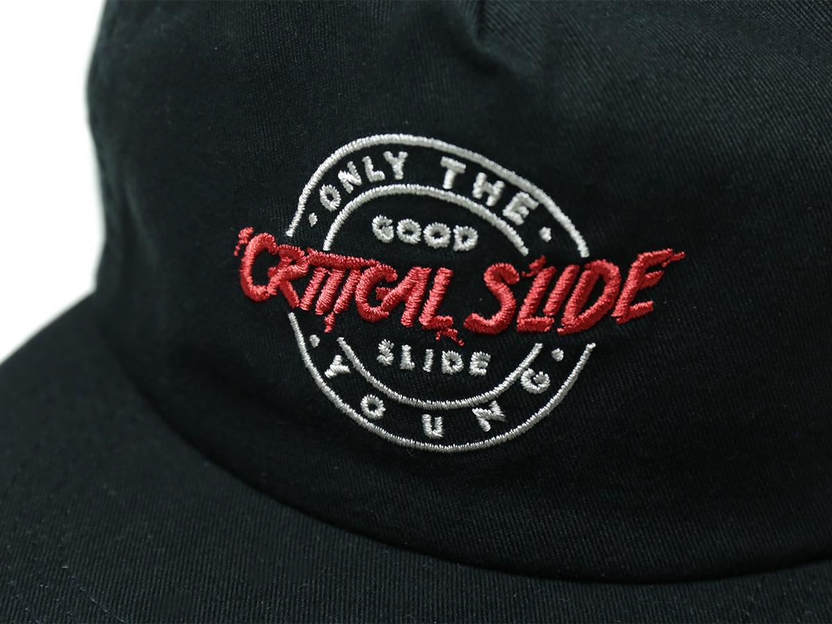 TCSS/the critical slide society FALL 2016 IDOLS CAP color : Black