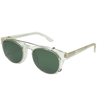 "Han Kjobenhavn 2016 SPRING/SUMMER  Eyewear  TIMELESS ""CLIP-ON""   color : CHAMPAGNE × SUN (GREEN)"