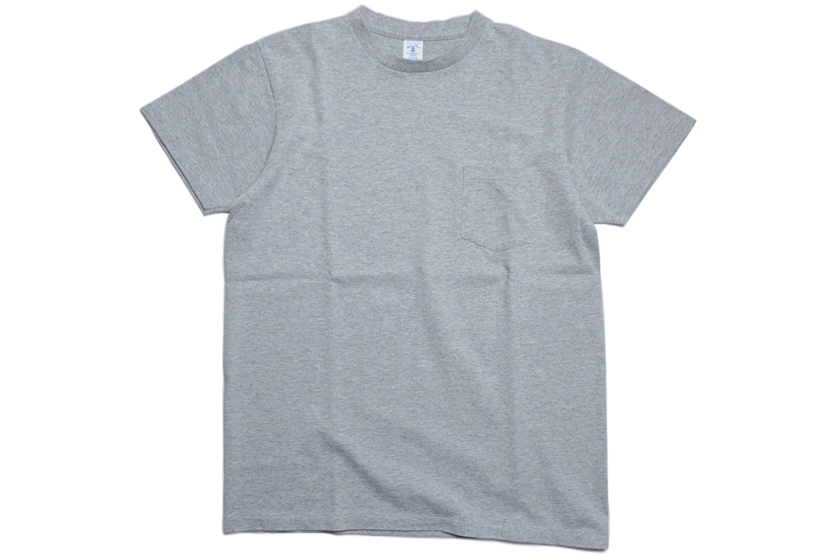 VELVA SHEEN 2PAC POCKET TEE - color : H.Gray