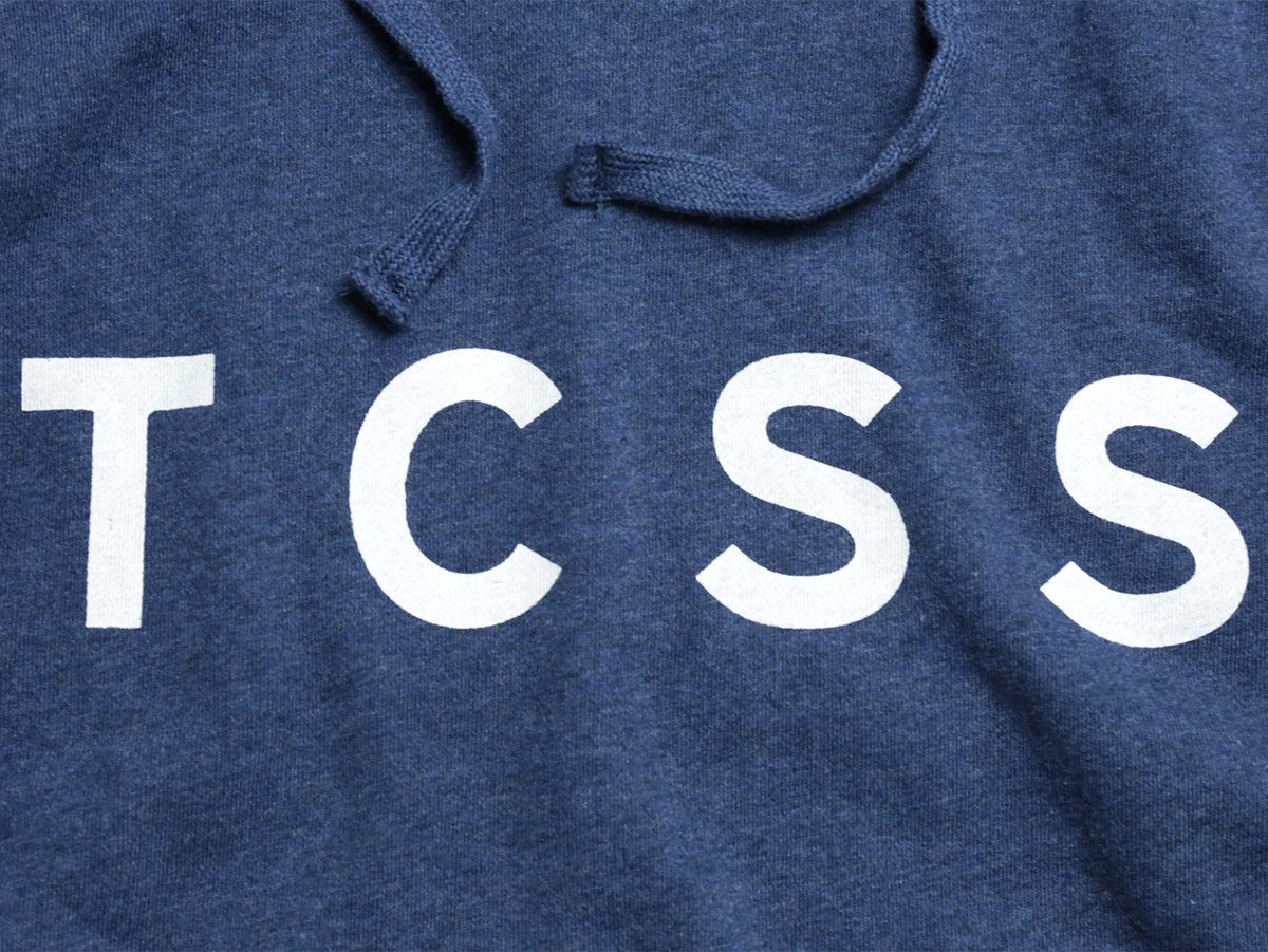 TCSS/the critical slide society FALL 2016  TRUSTY POP HOODIE  color : Heather Navy