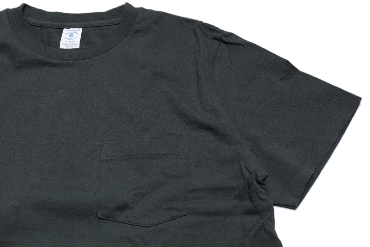 VELVA SHEEN 2PAC POCKET TEE - color : Black
