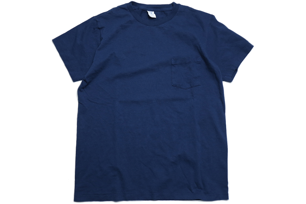 VELVA SHEEN 2PAC POCKET TEE - color : Navy