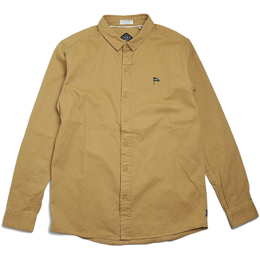 TCSS/the critical slide society FALL 2016 PATRIOT L/S SHIRT color : Taffy