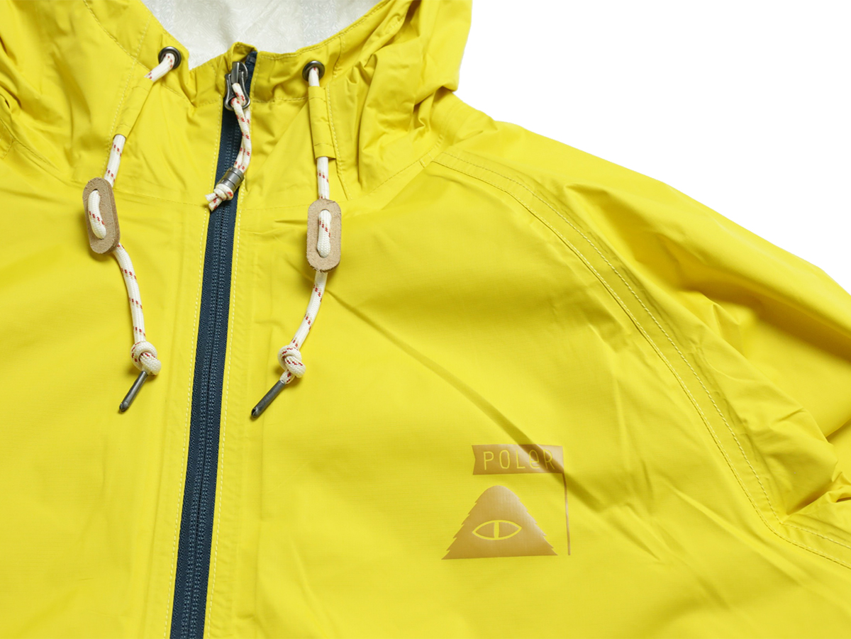 POLeR OUTDOOR STUFF SPRING 16 COLLECTION 2.5L VAGABOND JACKET color : Golden Rod