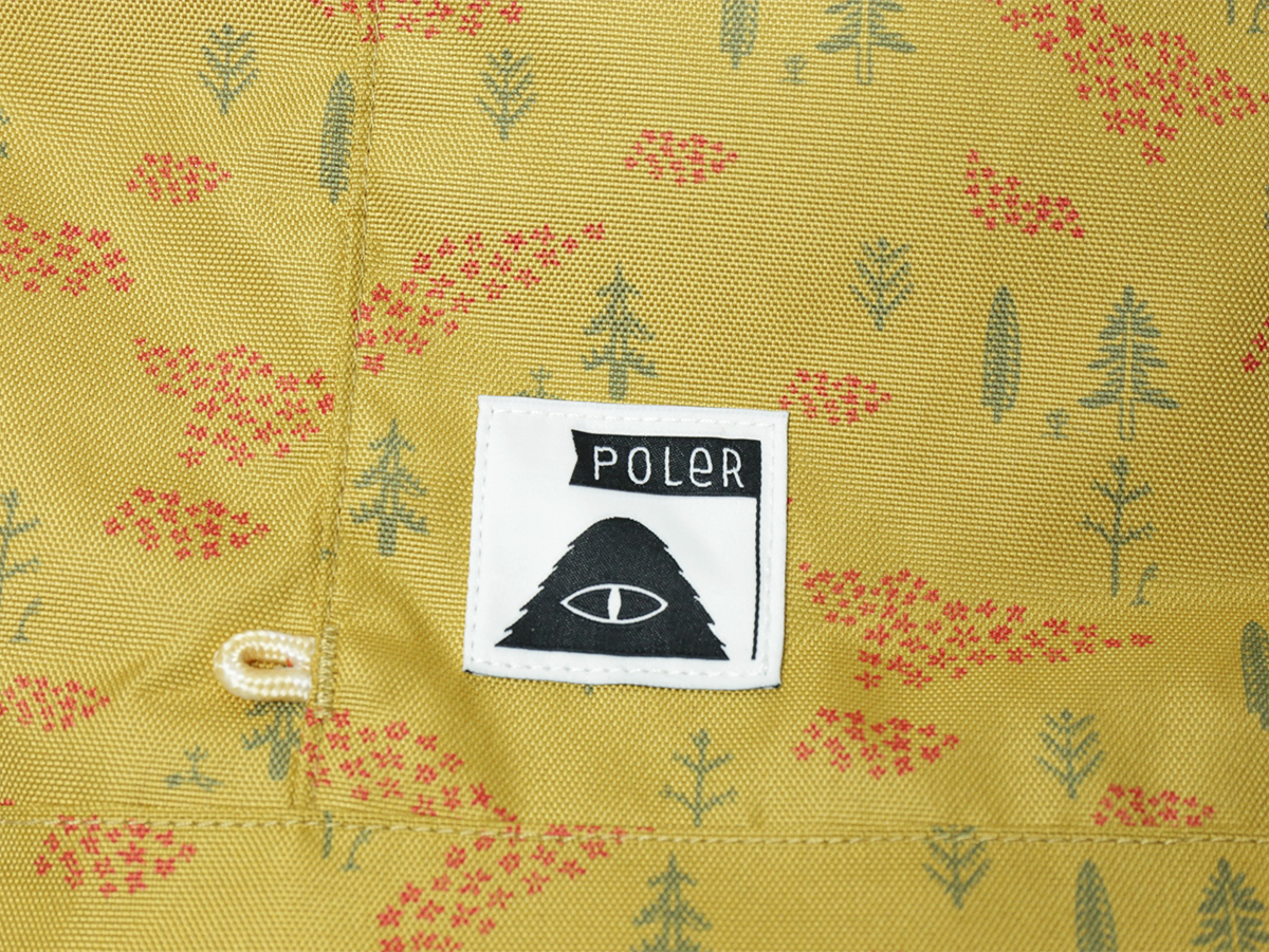 POLeR OUTDOOR STUFF SPRING 16 COLLECTION THE ROLLTOP color : Almond Forestry Print