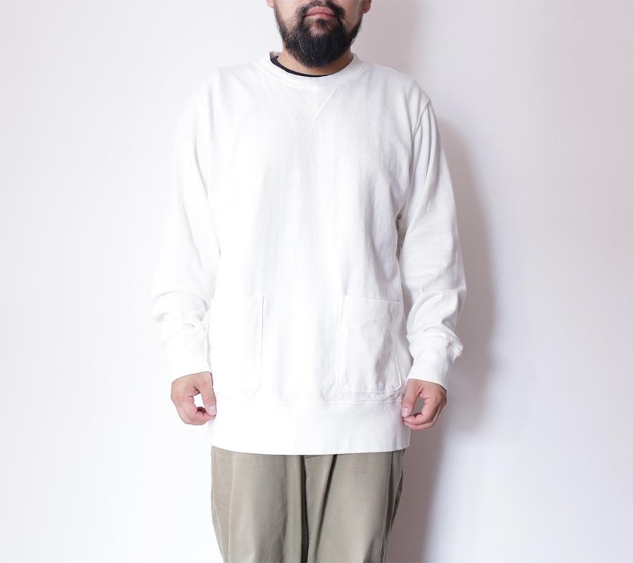 Velva Sheen AUTUMN 16 COLLECTION 8oz JERSEY CREWNECK SWEAT color : White