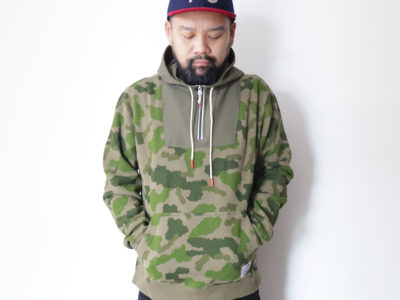 SNAP / POLeR OUTDOOR STUFF  FALL 16 COLLECTION  BAG-IT HOODIE  color : Green Furry Camo