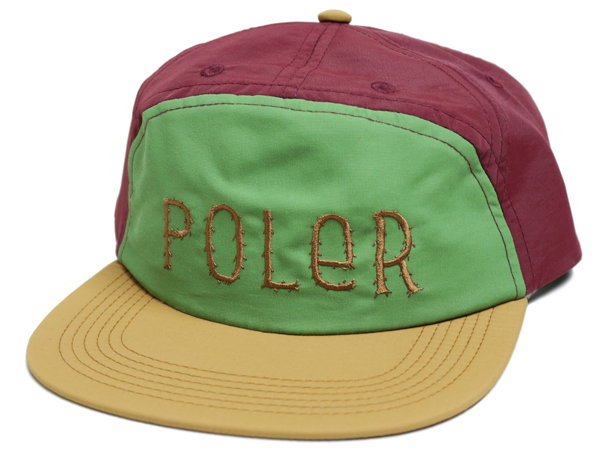 POLeR OUTDOOR STUFF FALL 16 COLLECTION 7PANEL UNSTRUCTURED SNAPBACK color : Merlot
