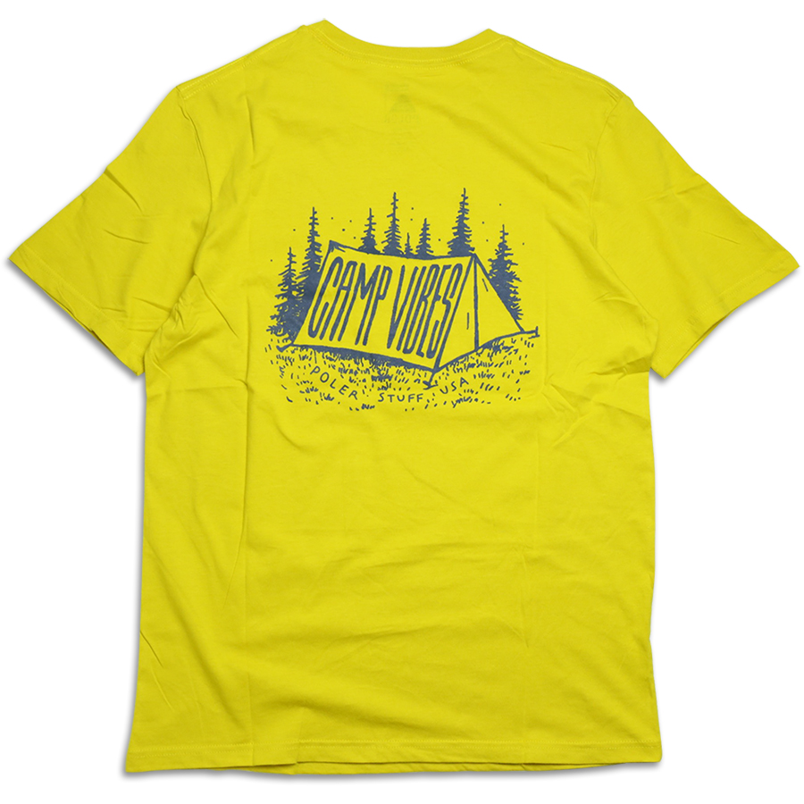 POLeR OUTDOOR STUFF SPRING 16 COLLECTION WILDLIFE TEE color : Golden Rod