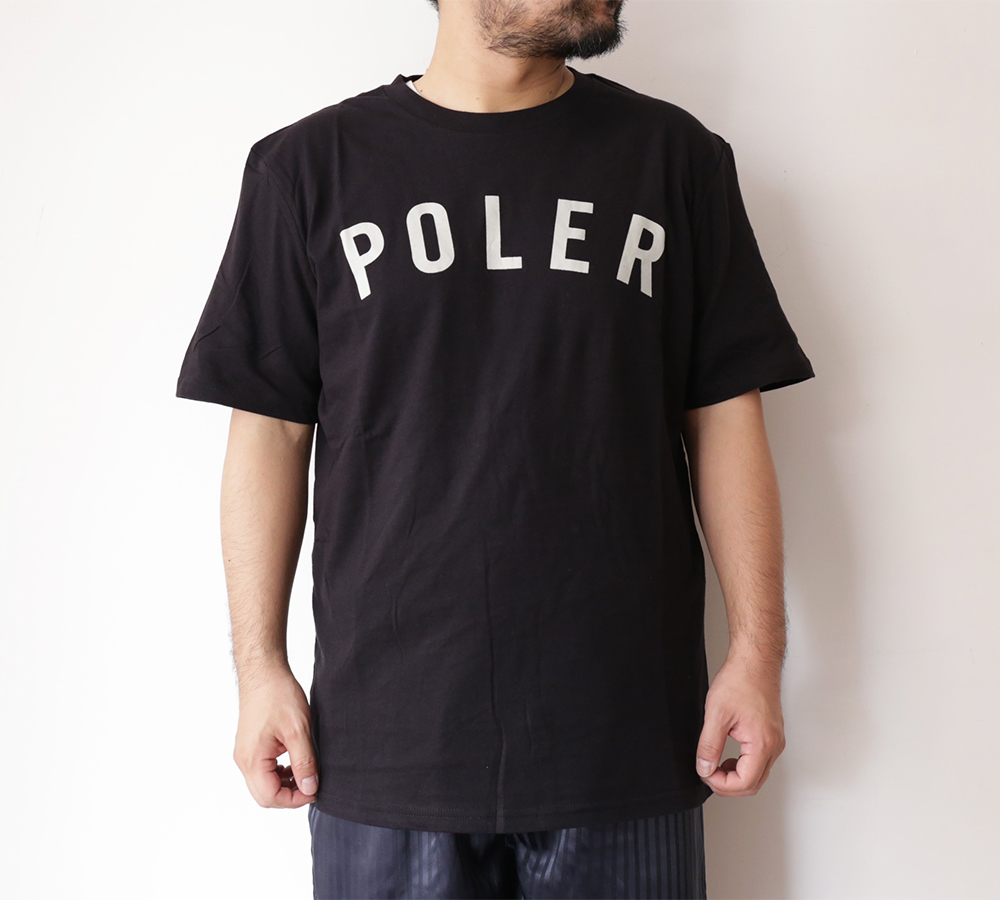 POLeR OUTDOOR STUFF SPRING 16 COLLECTION STATE TEE color : Black