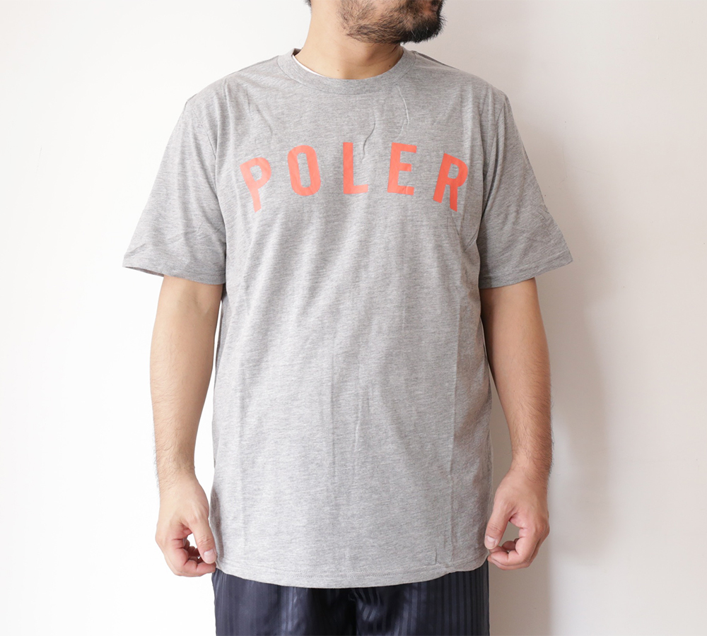 POLeR OUTDOOR STUFF SPRING 16 COLLECTION STATE TEE color : Heather Grey