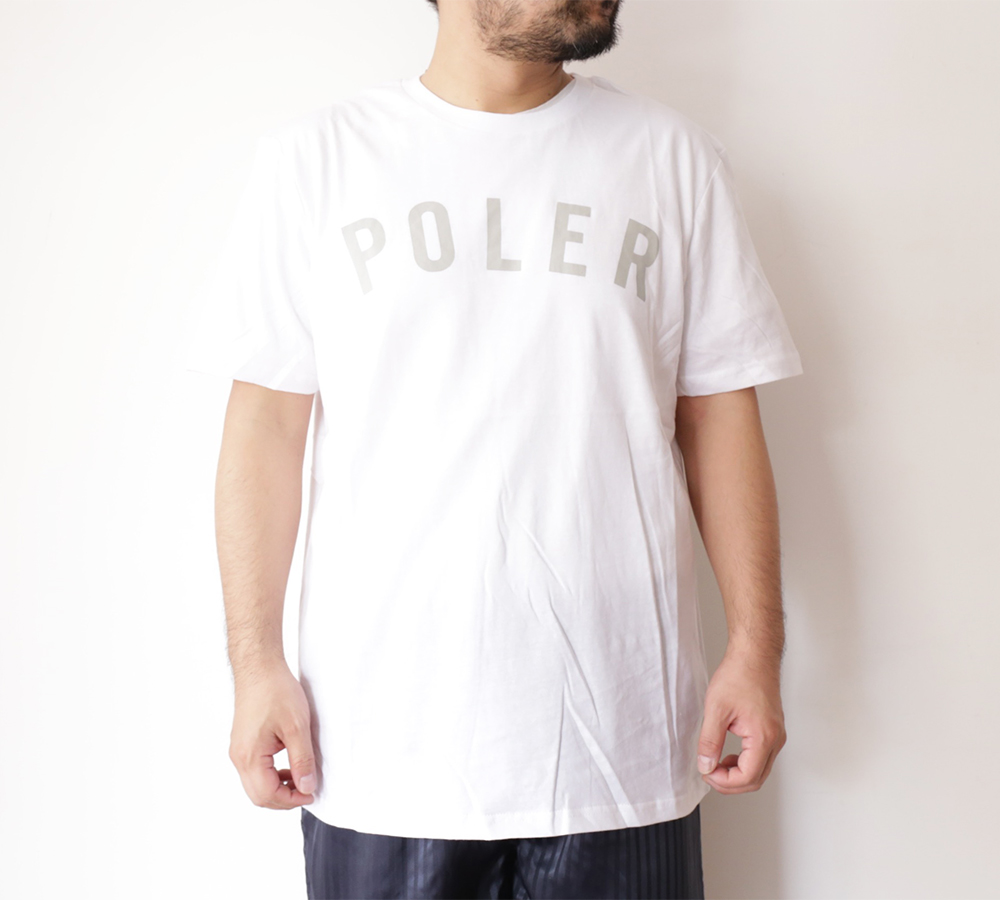 POLeR OUTDOOR STUFF SPRING 16 COLLECTION STATE TEE color : White