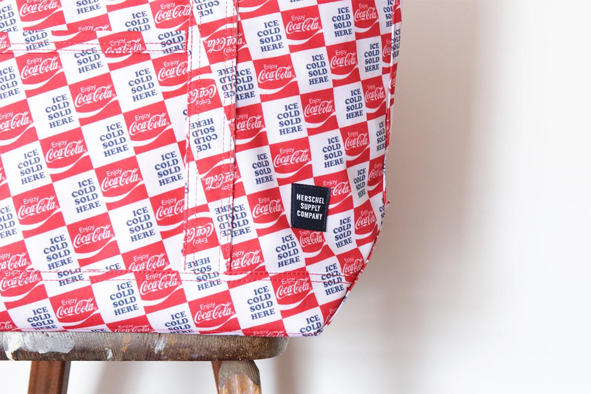 Herschel Supply x Coca Cola 【ICE COLD PACK】 BAMFIELD MID (COCA COLA)