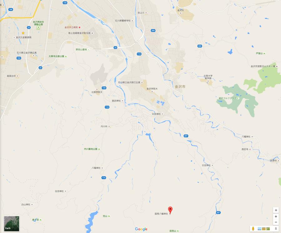 金沢市国見町_map