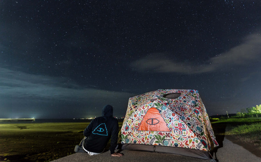 Diary vol. 33 / STARRY SKY & POLER TWOMAN TENT 7