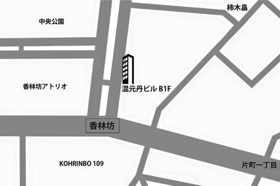 BASE kanazawa Map
