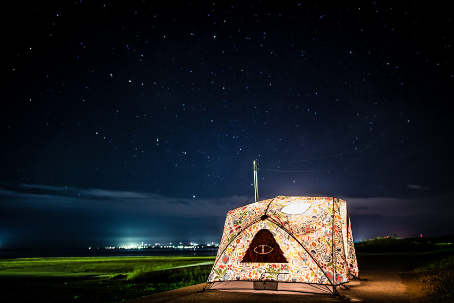 Diary vol. 33 / STARRY SKY & POLER TWOMAN TENT 10