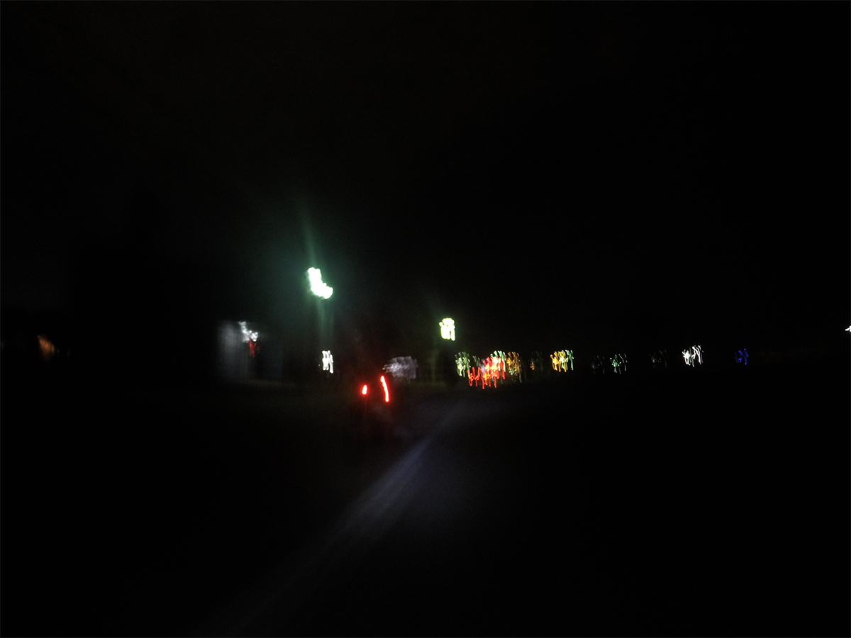 Night Run / GoPro 1