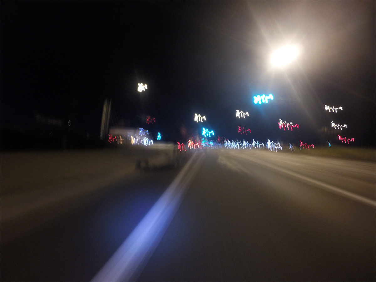 Night Run / GoPro 4
