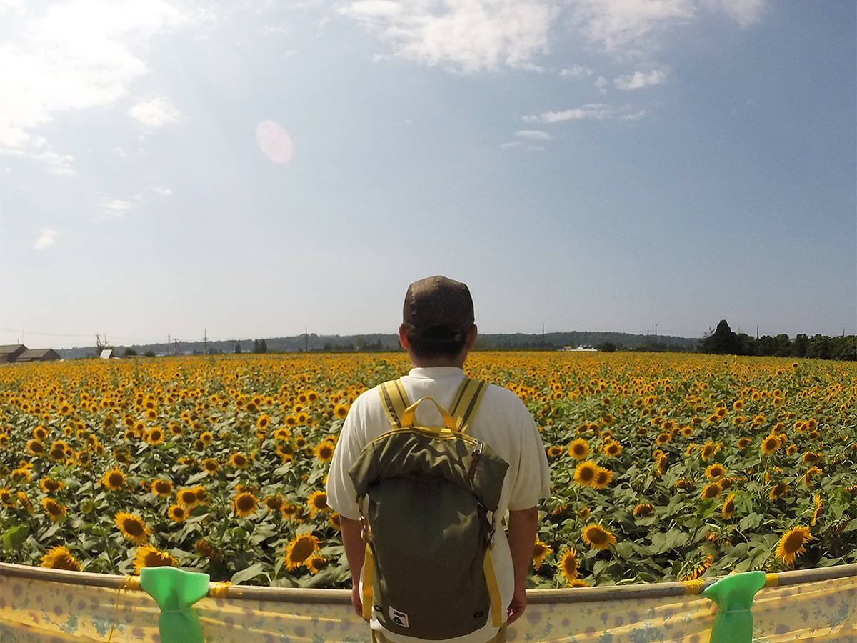 Diary vol. 27 「Sunflower Vibes」 Sunflower with POLeR