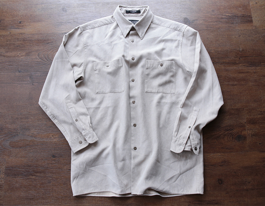 BRANDINI FAKE SUEDE SHIRTS USED CLOTHING COLLECTION vol. 9