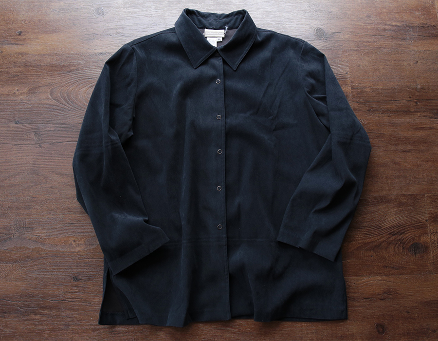 Coldwater Creek FAKE SUEDE SHIRTS JACKET USED CLOTHING COLLECTION vol. 9