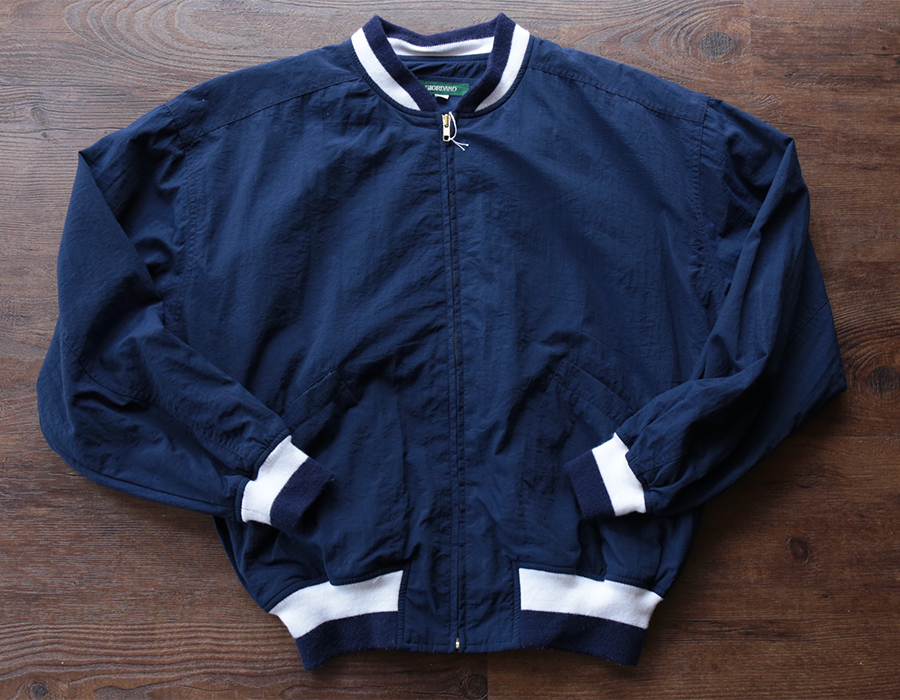 GIORDANO NYLON ZIP JACKET USED CLOTHING COLLECTION vol. 9