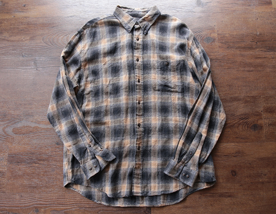FLANNEL CHECK SHIRTS USED CLOTHING COLLECTION vol. 9