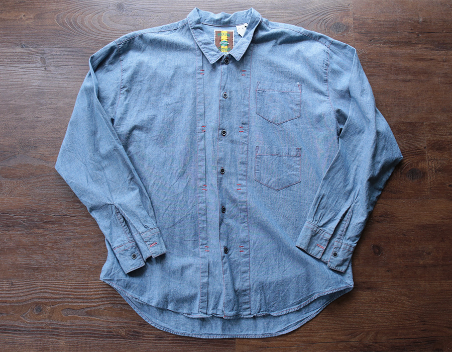 MODERN CLOTHING CHAMBRAY SHIRTS USED CLOTHING COLLECTION vol. 9