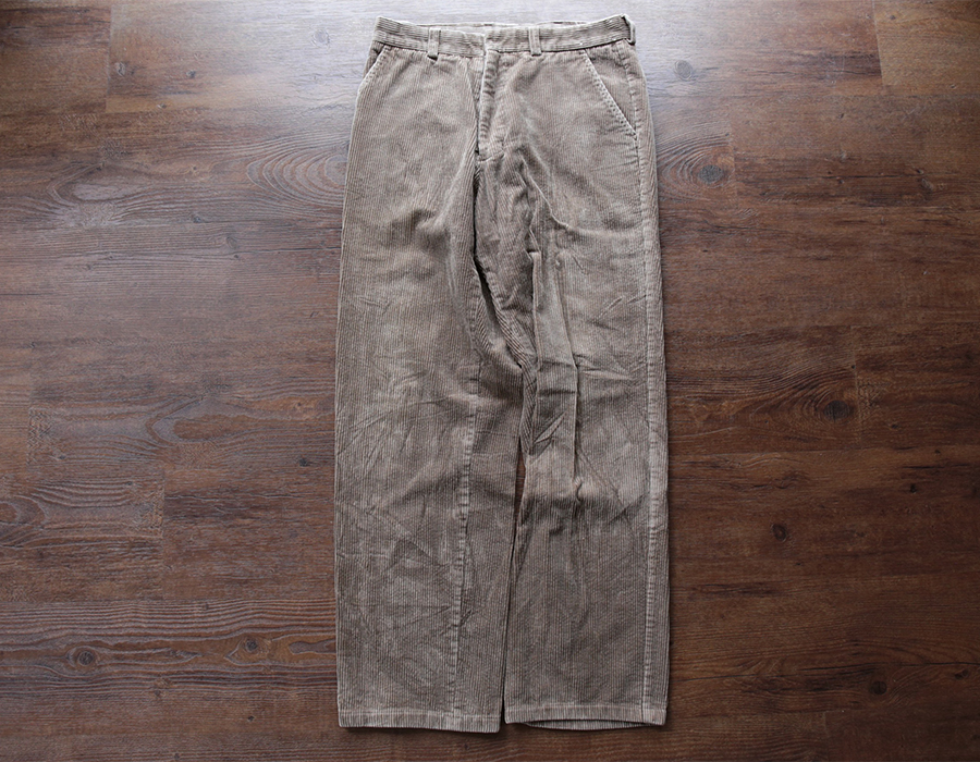 PINE POINT WIDE WALE CORDUROY USED CLOTHING COLLECTION vol. 9