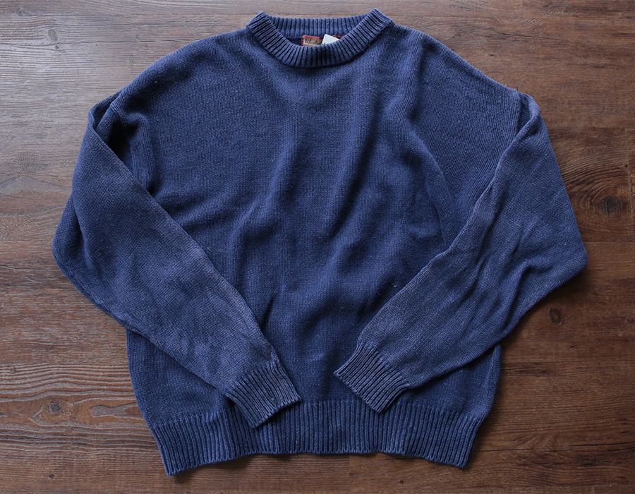 MUSKOKA LAKES COTTON CREWNECK KNIT USED CLOTHING COLLECTION vol. 9