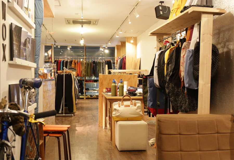 wax clothing display