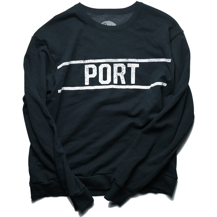 PORT LBC ENGAL CREWNECK SWEATSHIRT