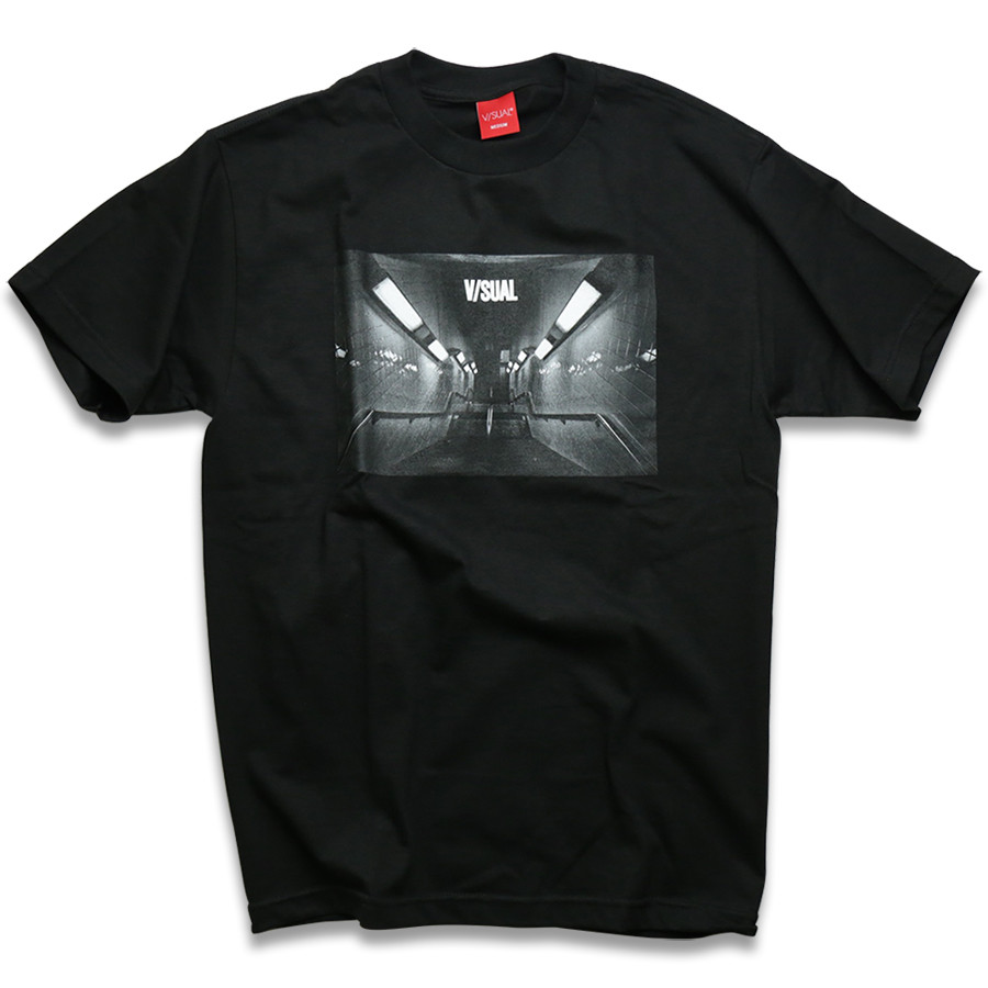 VISUAL Apparel / Underground Tee - Black