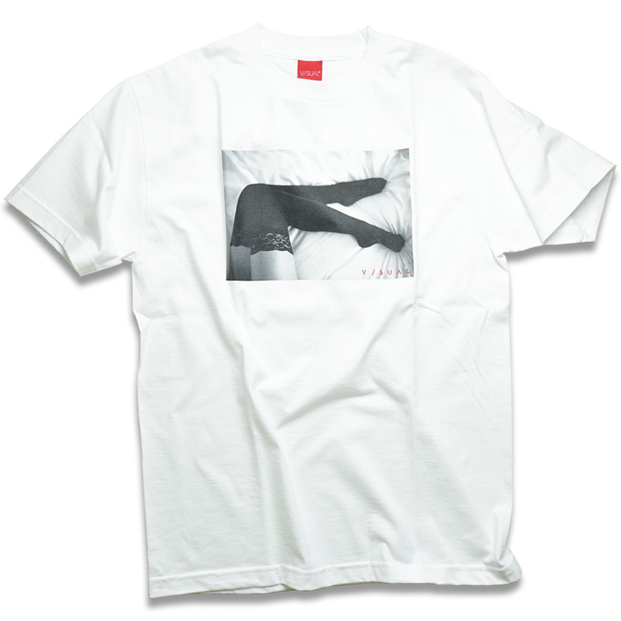 VISUAL Apparel / Legs Tee - White