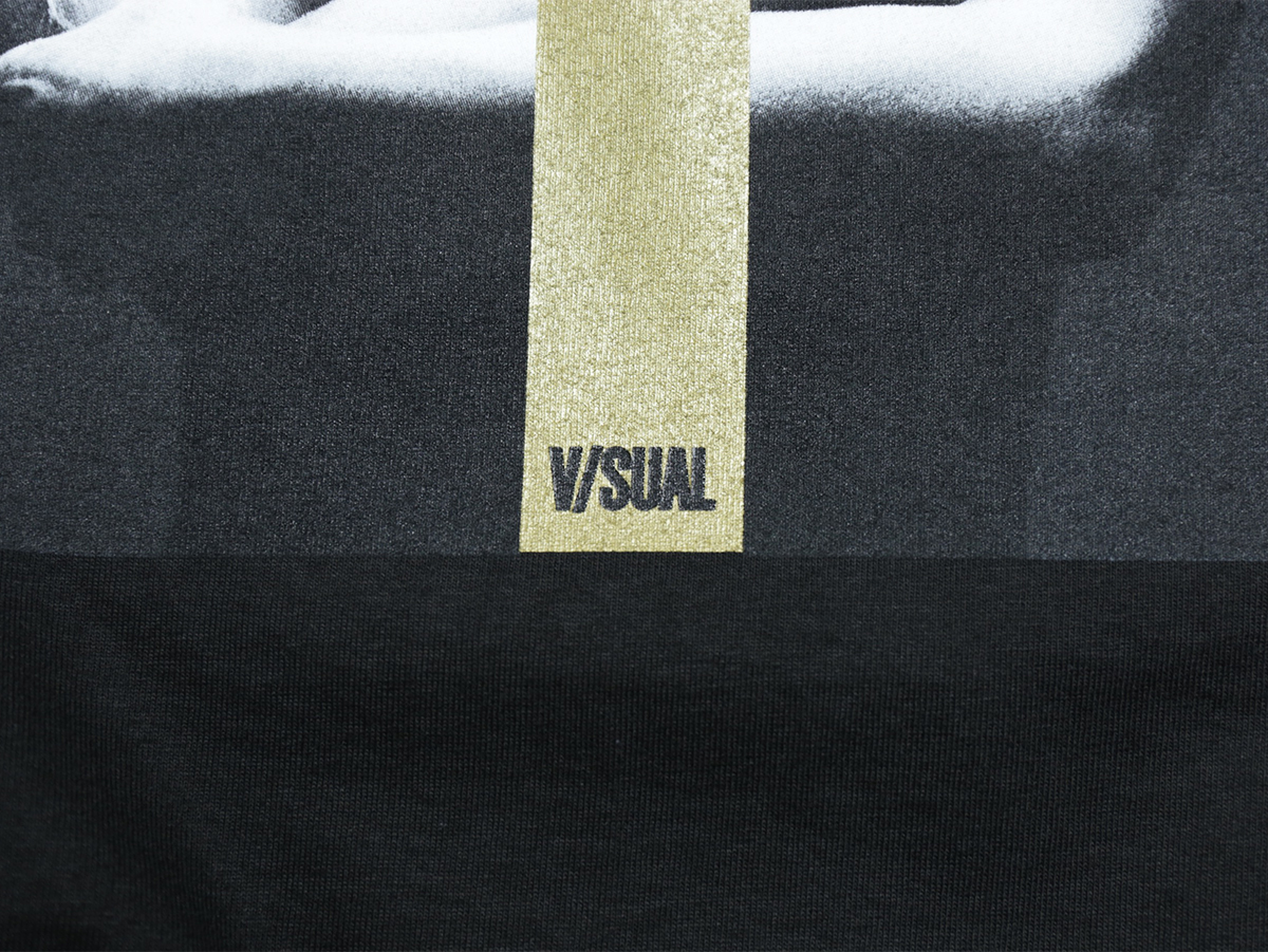 VISUAL Apparel / FALL 2016 EXCALIBUR TEE color : Black