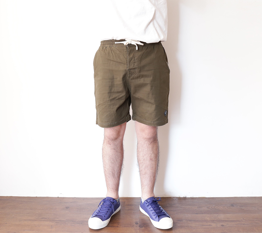 TCSS/the critical slide society SUMMER 2016 MR COMFORT WALKSHORT color : Cactus(Olive)